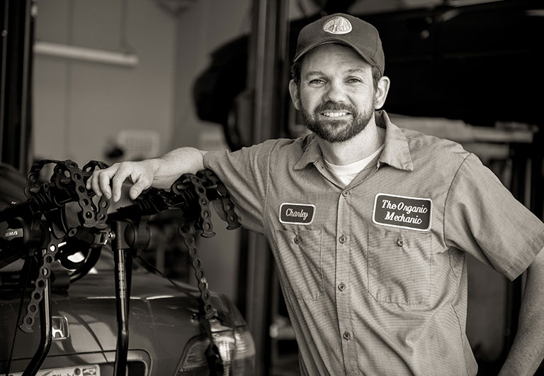 Charley Wilson, Owner, ASE Certified Technician | The Organic Mechanic